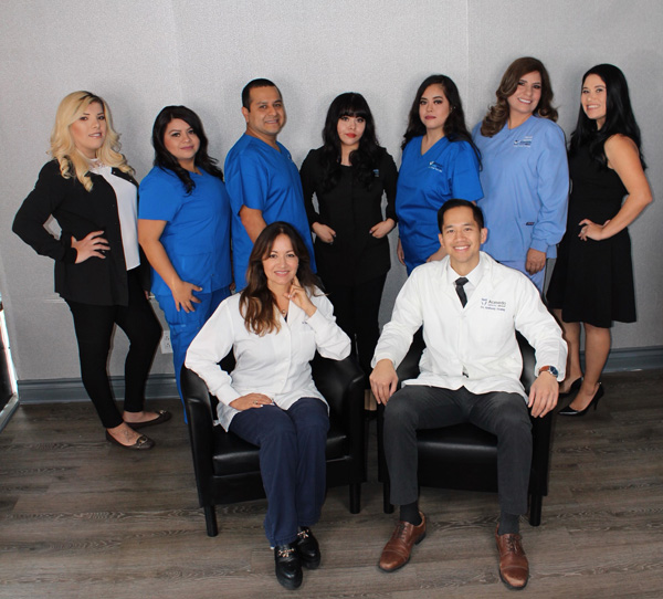 dentist in ontario - acevedo dental group of ontario california - team