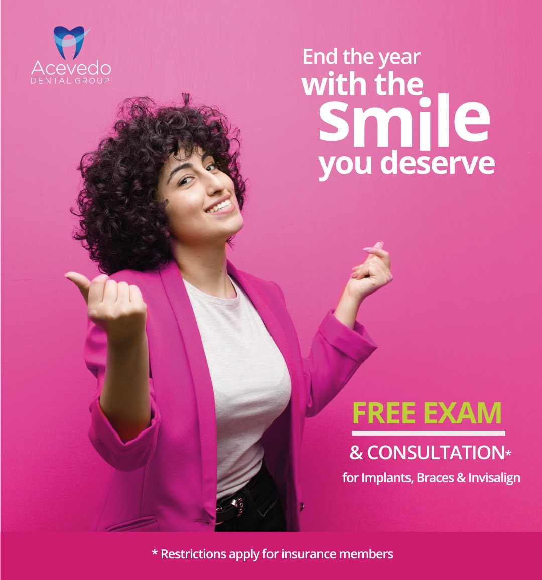 dental offer - free exam and consult