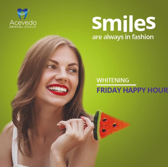 whitening - friday happy hour